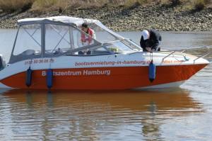 An- & Ablegemanöver beim Skippertraining