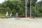Grillplatz im Hafen