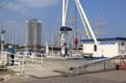 Kran im Passat-Hafen